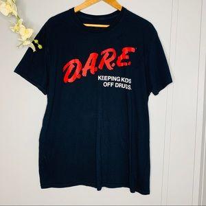 Vintage D.A.R.E T-shirt XL